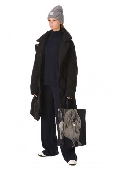 Стеганое пуховое пальто IENKI IENKI IENw20006