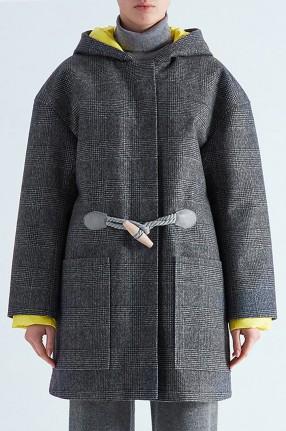 IENKI IENKI Пальто на пуху DUFFLE