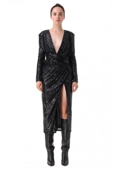 Платье в пайетках IN THE MOOD FOR LOVE IMFL21006