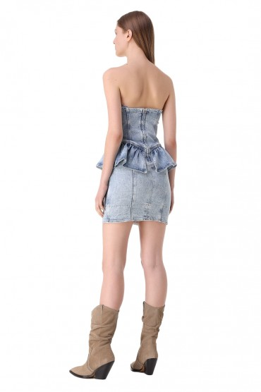 Джинсовое платье ISABEL MARANT IMw11002