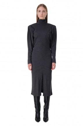 ISABEL MARANT Платье c подплечниками