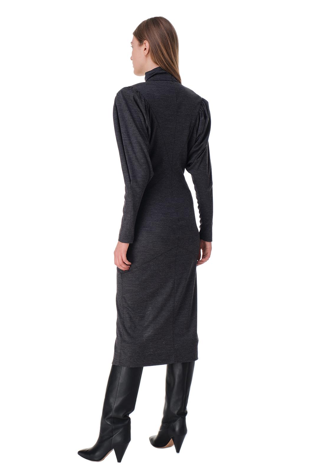 Платье c подплечниками ISABEL MARANT IMw20002