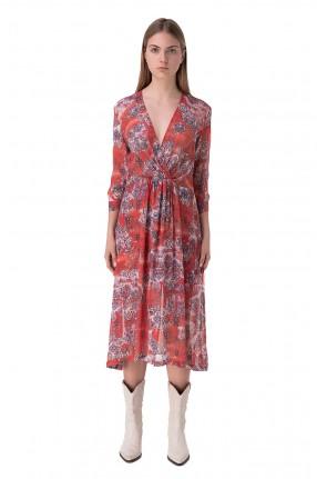 IRO Платье с принтом
