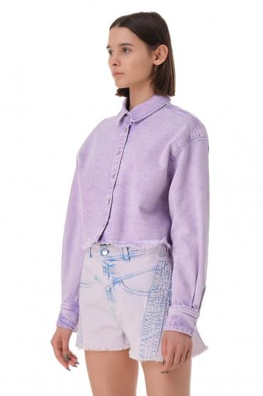 Укороченная джинсовая рубашка IRO IROp11005