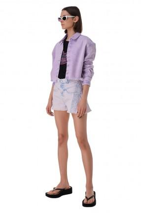 IRO Укороченная джинсовая рубашка