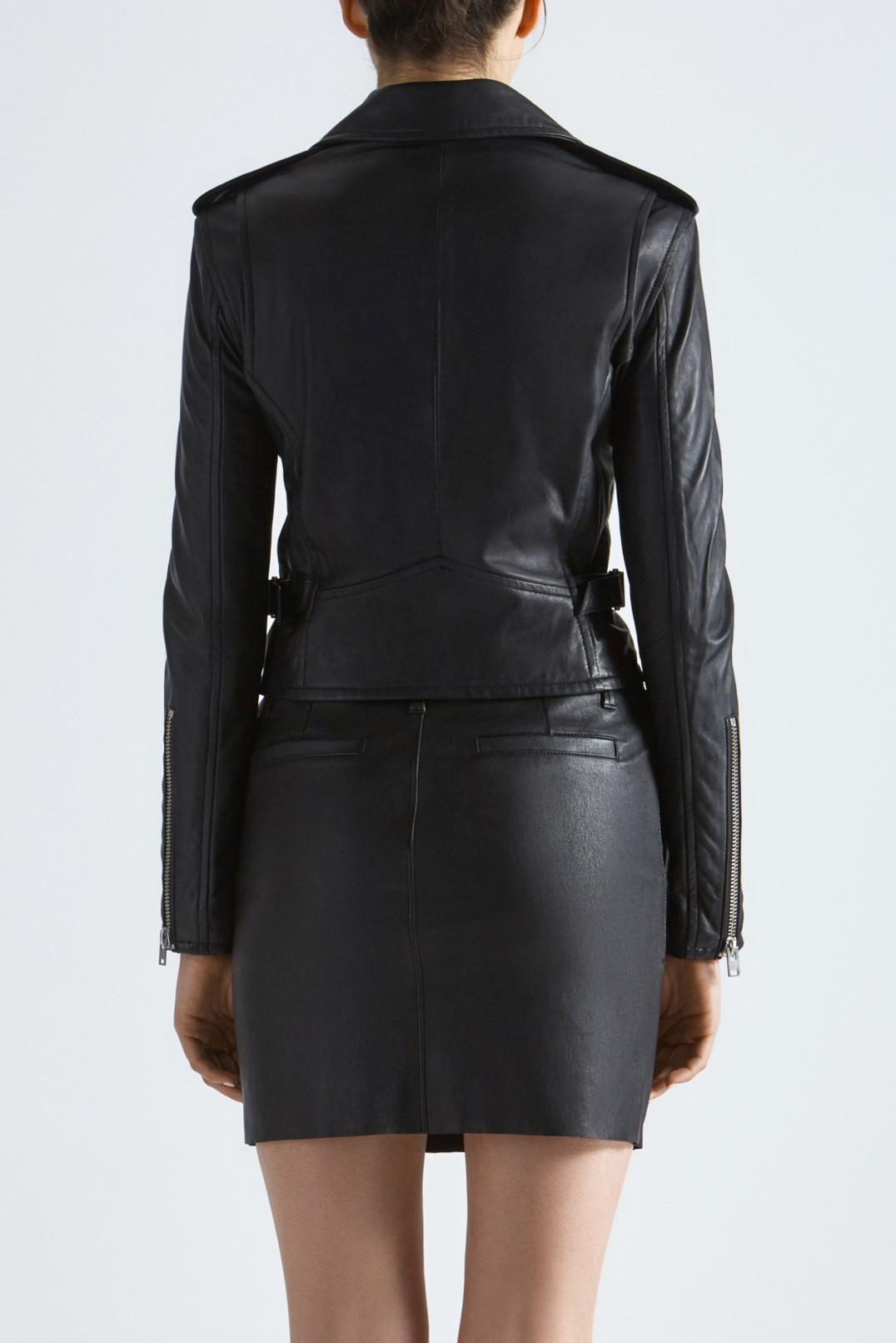 Кожаная куртка косуха IRO IROp29012
