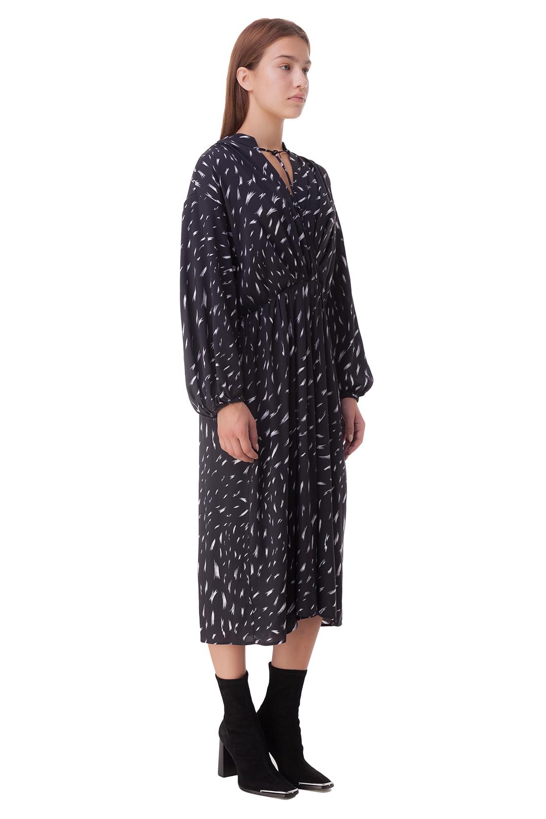 Платье с принтом IRO IROp20030