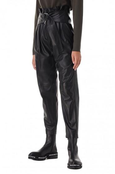 Кожаные брюки IRO IROp21018