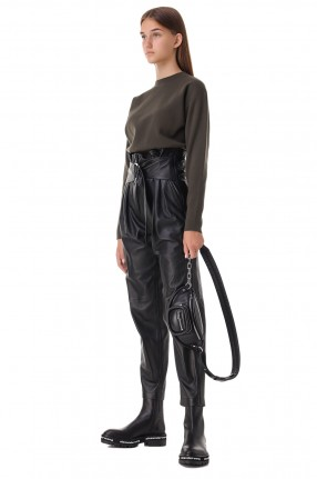 IRO Кожаные брюки