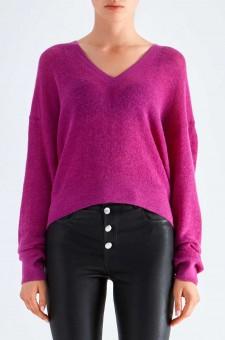 Пуловер oversize