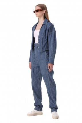 IRO Укороченная джинсовая куртка