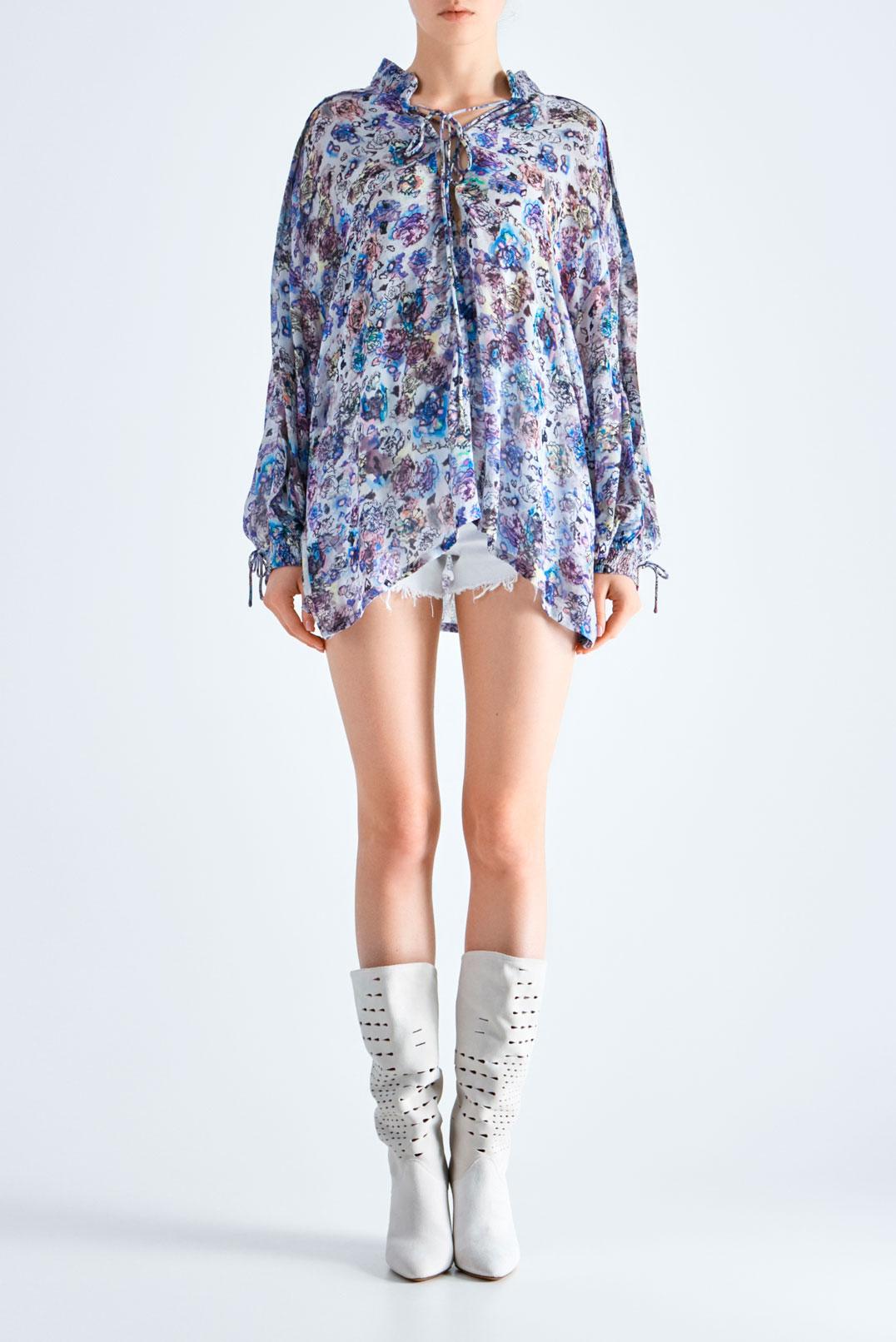 Блуза oversize с принтом IRO IROw19021