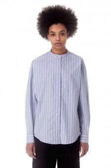 Рубашка oversize в полоску