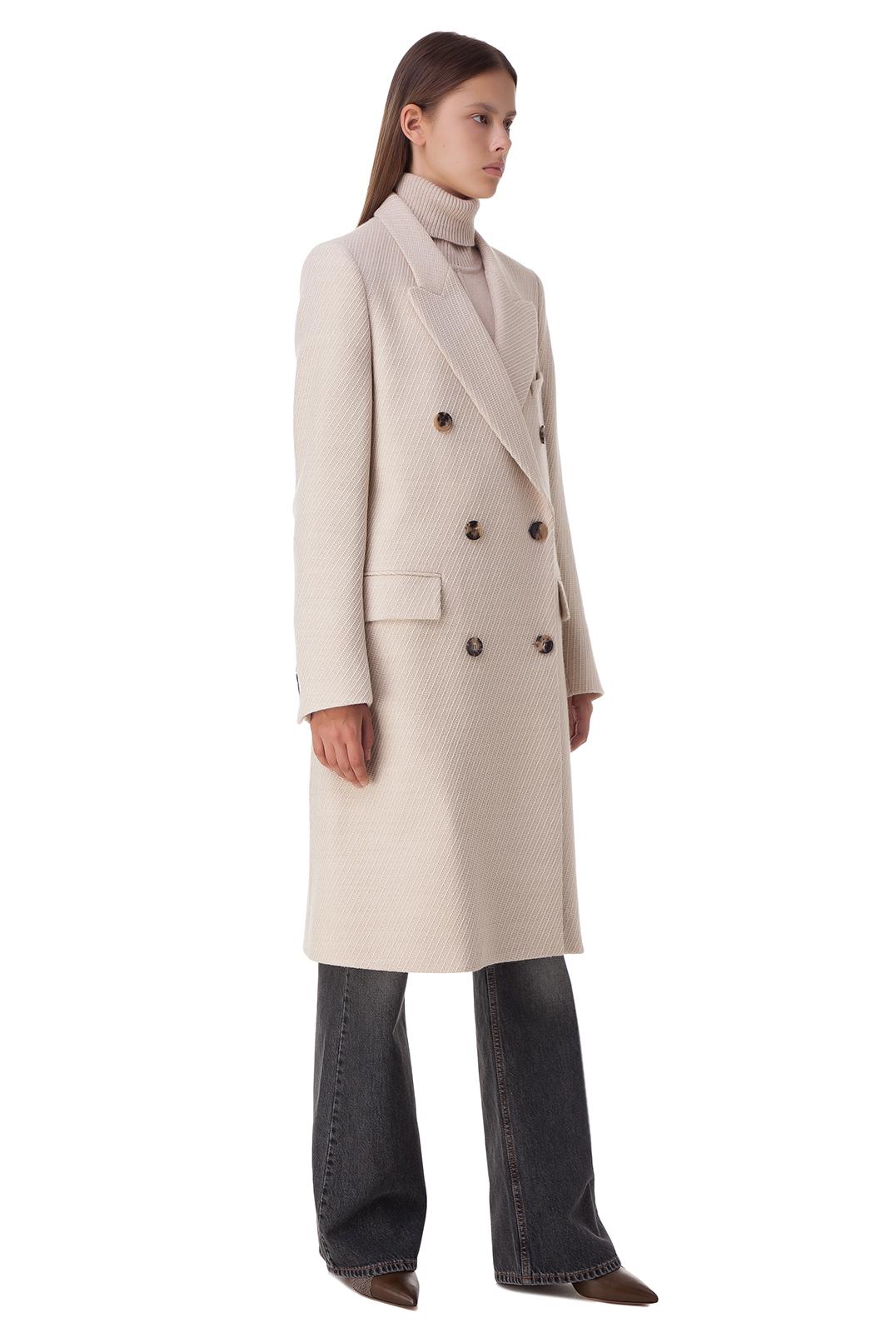 Двубортное пальто ISABEL MARANT ISBp20002