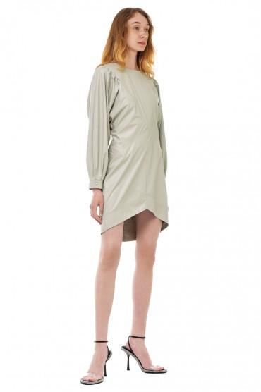Платье из эко-кожи ISABEL MARANT ISBp20003