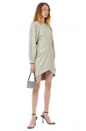 ISABEL MARANT Платье из эко-кожи