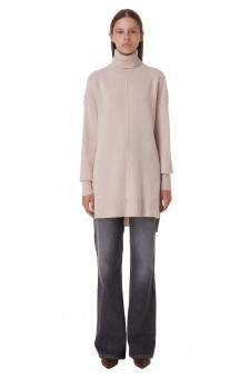 Удлиненный кашемировый свитер