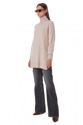 ISABEL MARANT Удлиненный кашемировый свитер