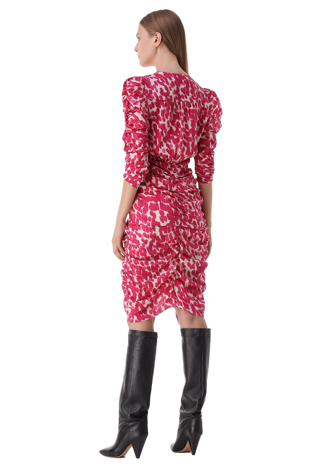 Платье с принтом ISABEL MARANT ISBp21002