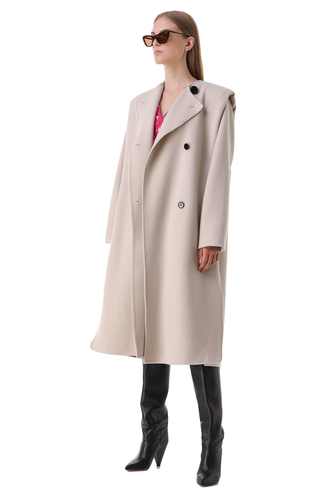 Двубортное пальто ISABEL MARANT ISBp21003