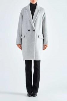 Двубортное пальто oversize FILIPO