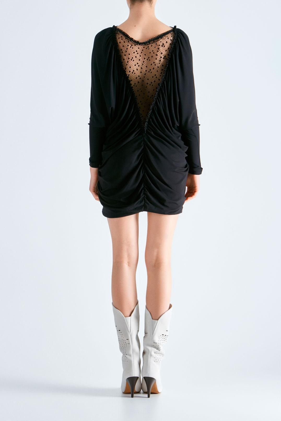 Драпированное платье ISABEL MARANT ISBw19010
