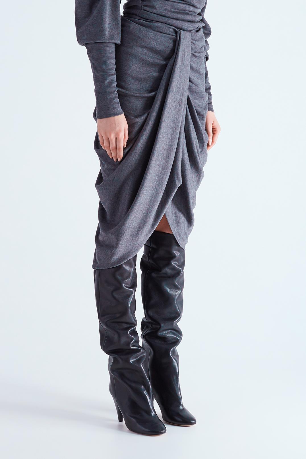 Драпированная юбка ISABEL MARANT ISBw29002