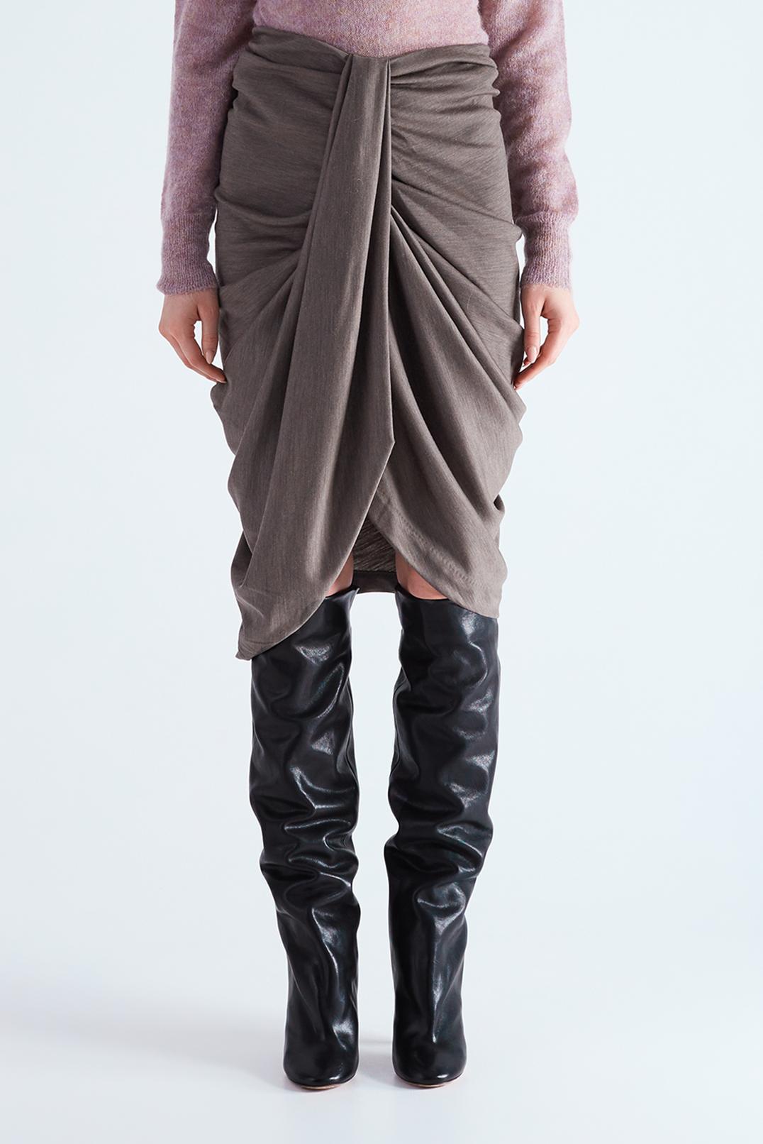 Драпированная юбка ISABEL MARANT ISBw29003