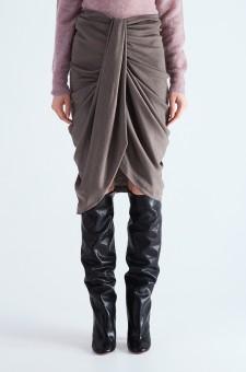 Драпированная юбка