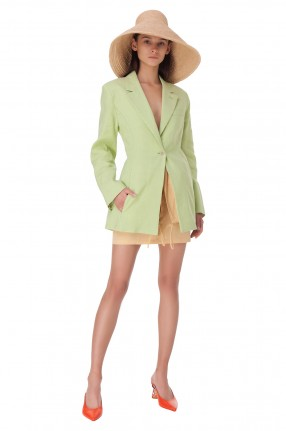 JACQUEMUS Удлиненный пиджак Tablier