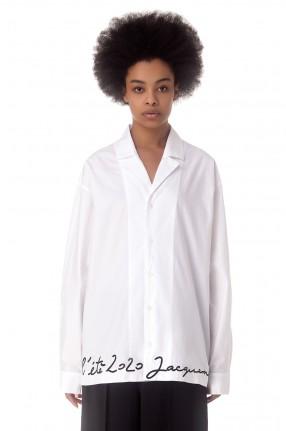 JACQUEMUS Рубашка La chemise Coup de Soleil