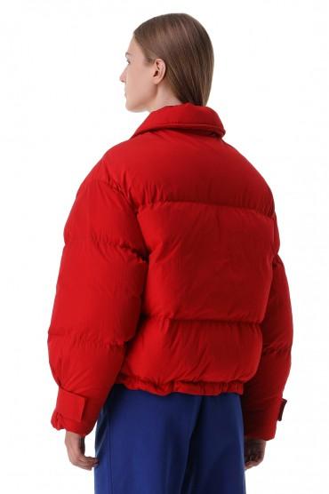 Стеганая куртка с логотипом JACQUEMUS JAC21009