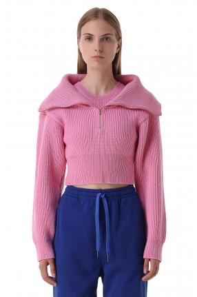 JACQUEMUS Укороченный свитер