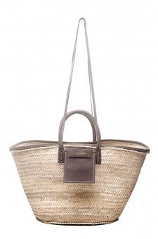 Соломенная сумка-тоут Le grand panier Soleil