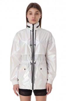 Куртка с потайным капюшоном