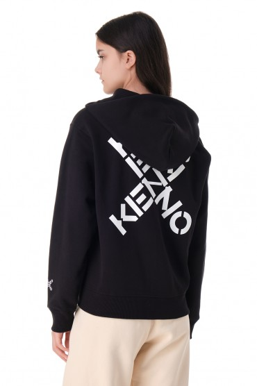 Худи на молнии с логотипом KENZO KNZw11012