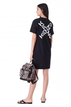 KENZO Платье-футболка с логотипом