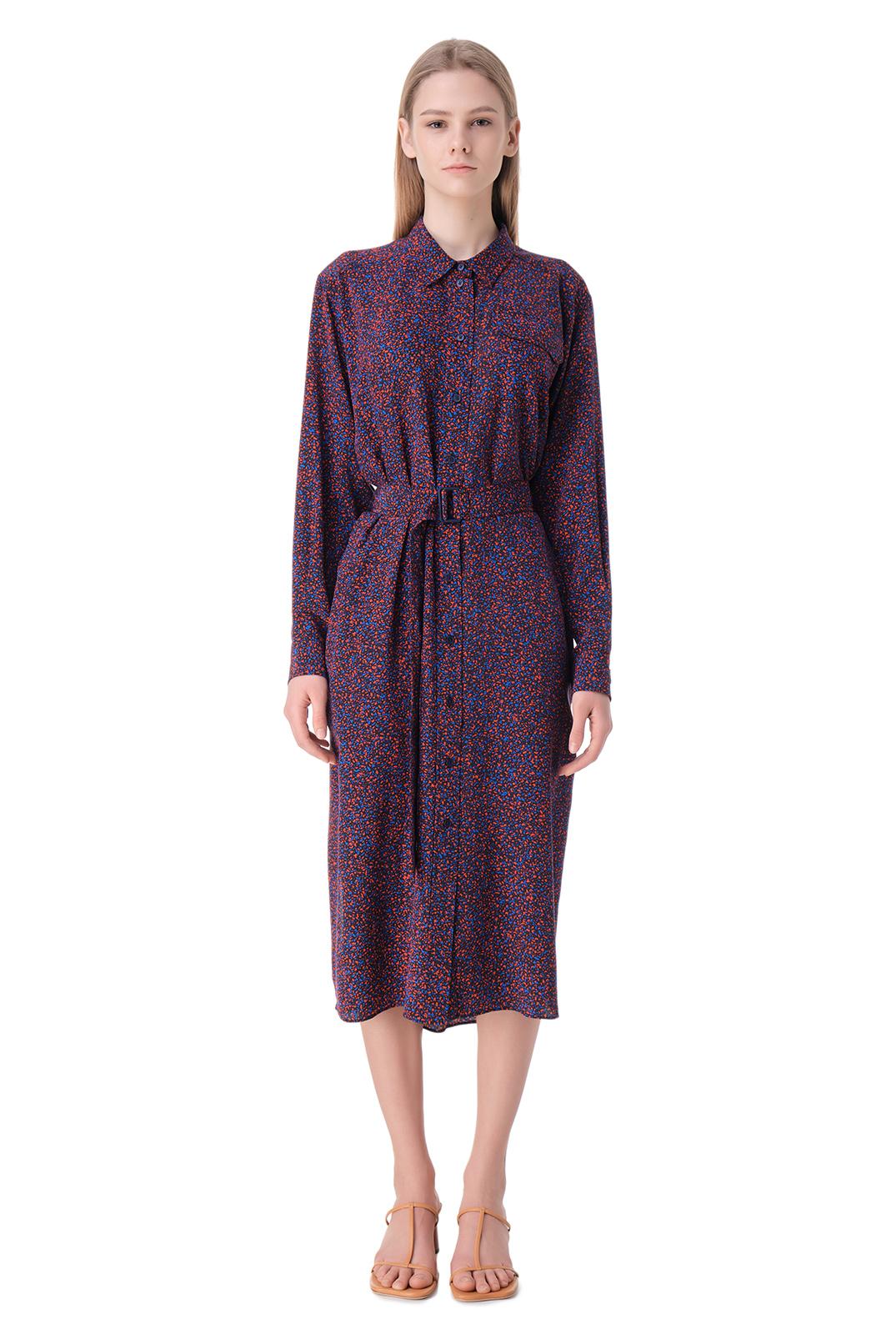 Платье-рубашка с принтом KENZO KNZw11025