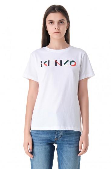Футболка с логотипом KENZO KNZw11032