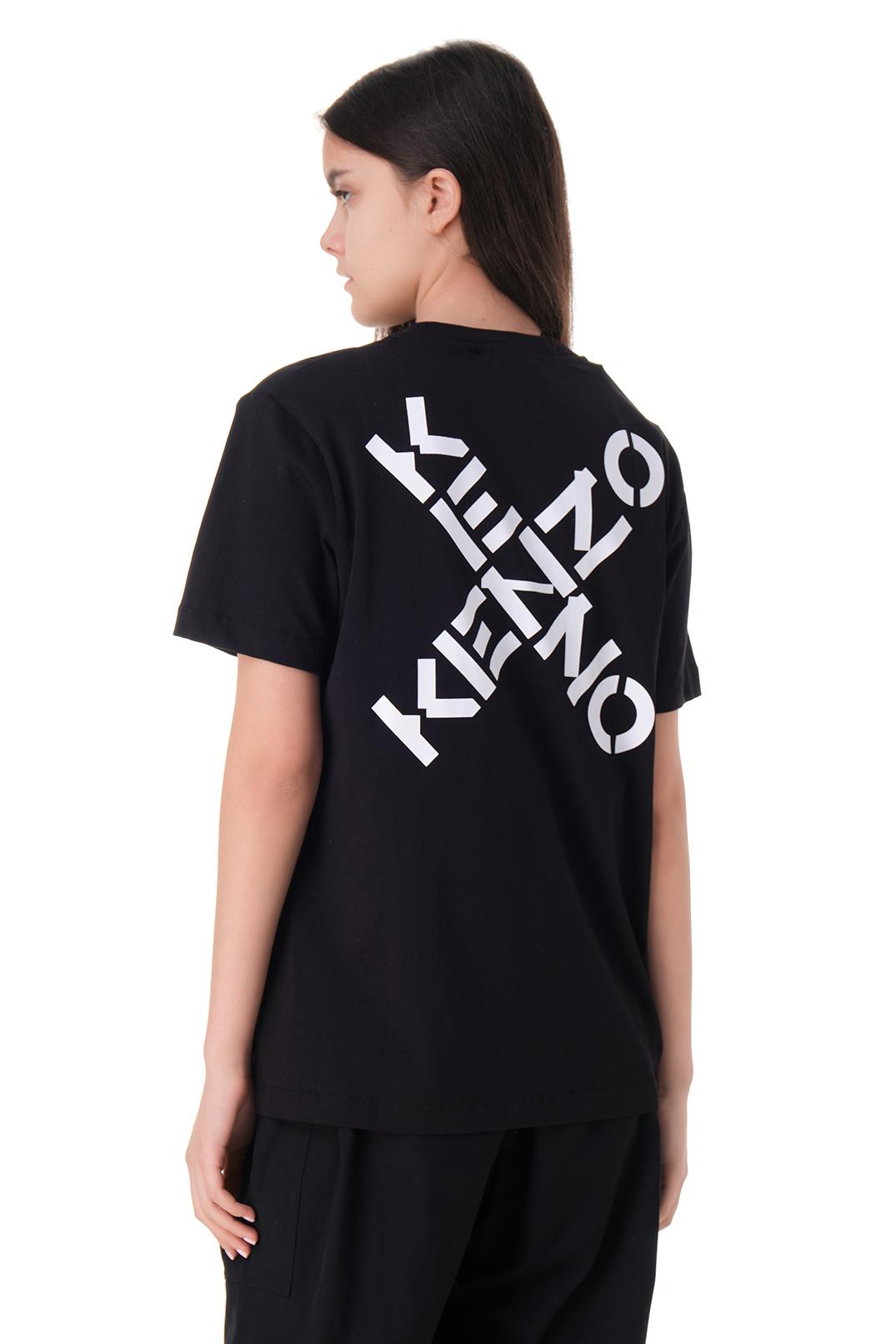 Футболка с логотипами KENZO KNZw11035
