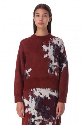 KENZO Укороченный свитер oversize