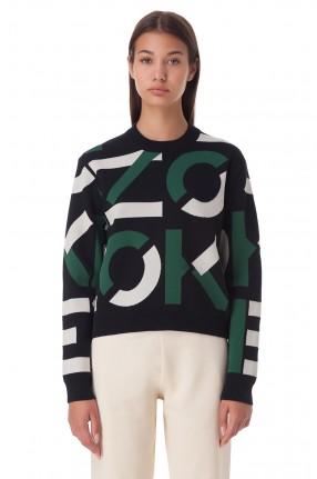 KENZO Укороченный свитер