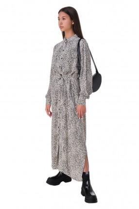 KENZO Платье-рубашка с принтом