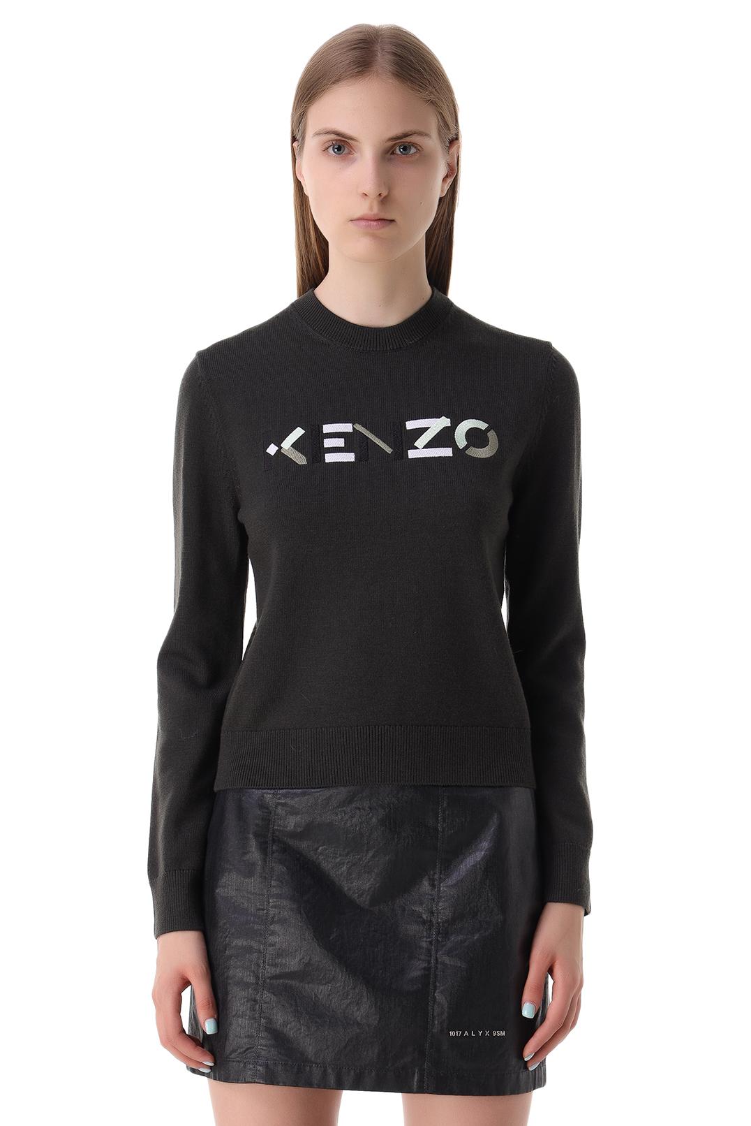 Свитер с логотипом KENZO KNZw21006