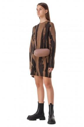 KENZO Платье с принтом