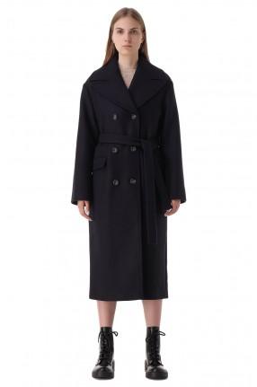 LES COYOTES DE PARIS Двубортное пальто
