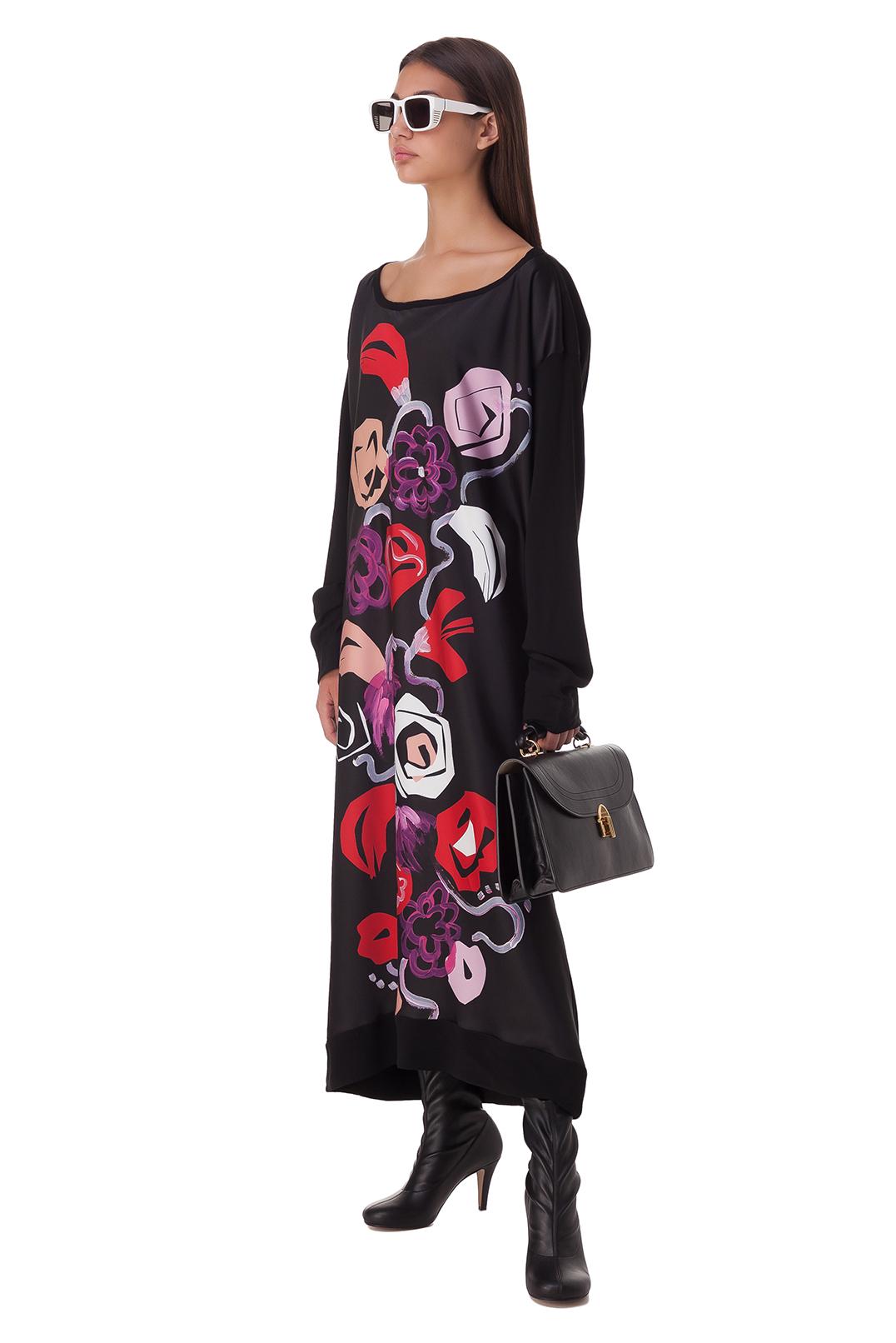 Платье с принтом MARNI MAR20001