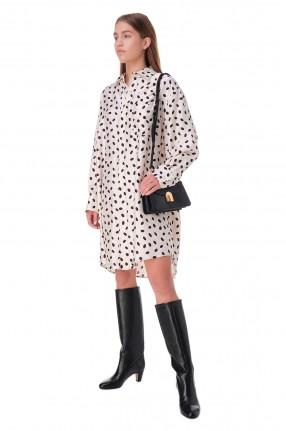 MARNI Платья-рубашка с принтом