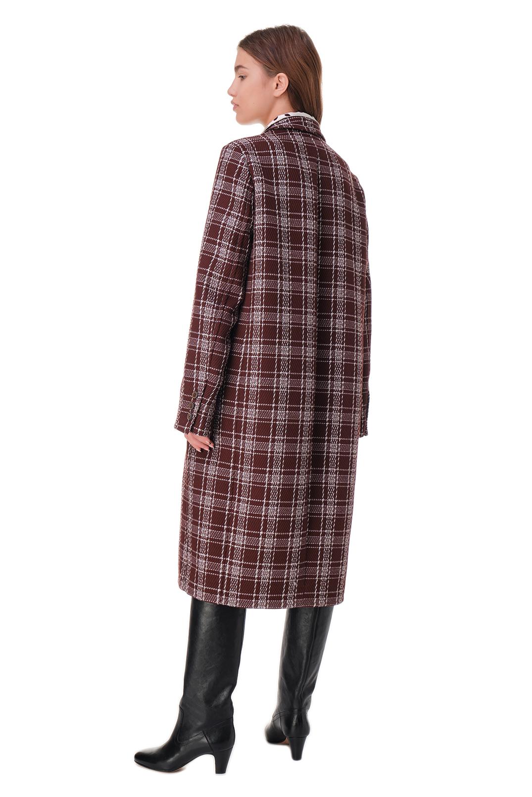 Пальто в клетку MARNI MAR20005