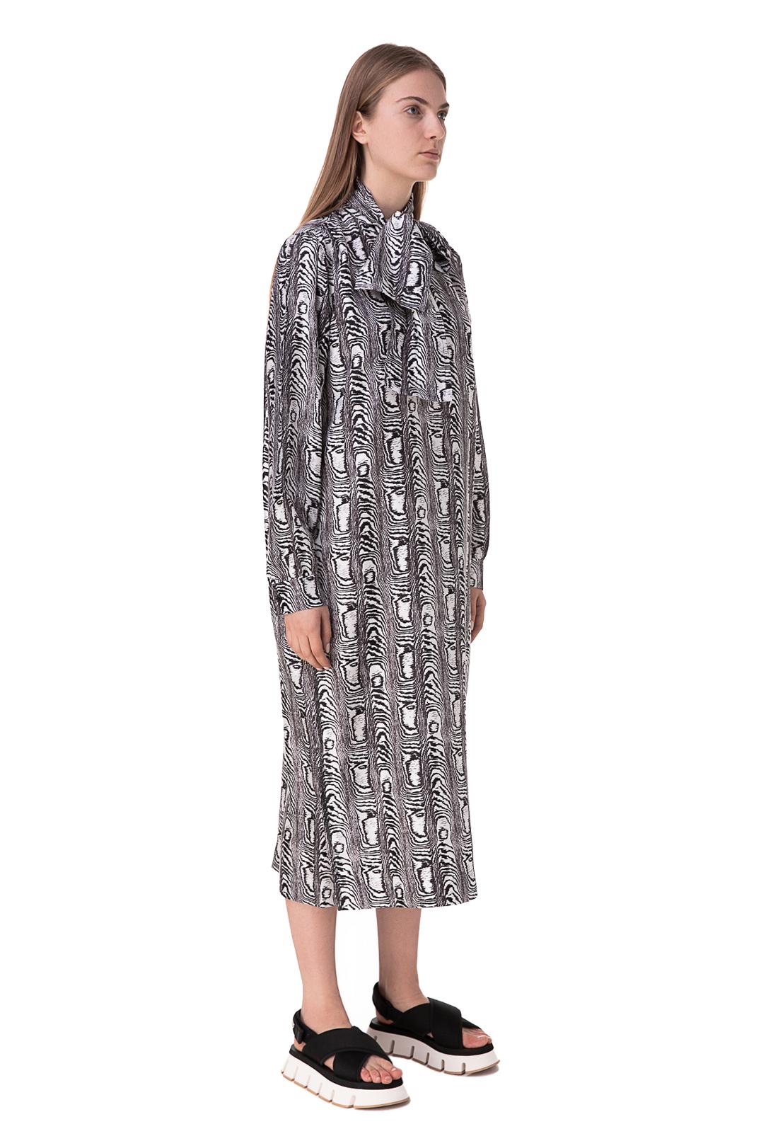 Платье с принтом MARNI MARp10001
